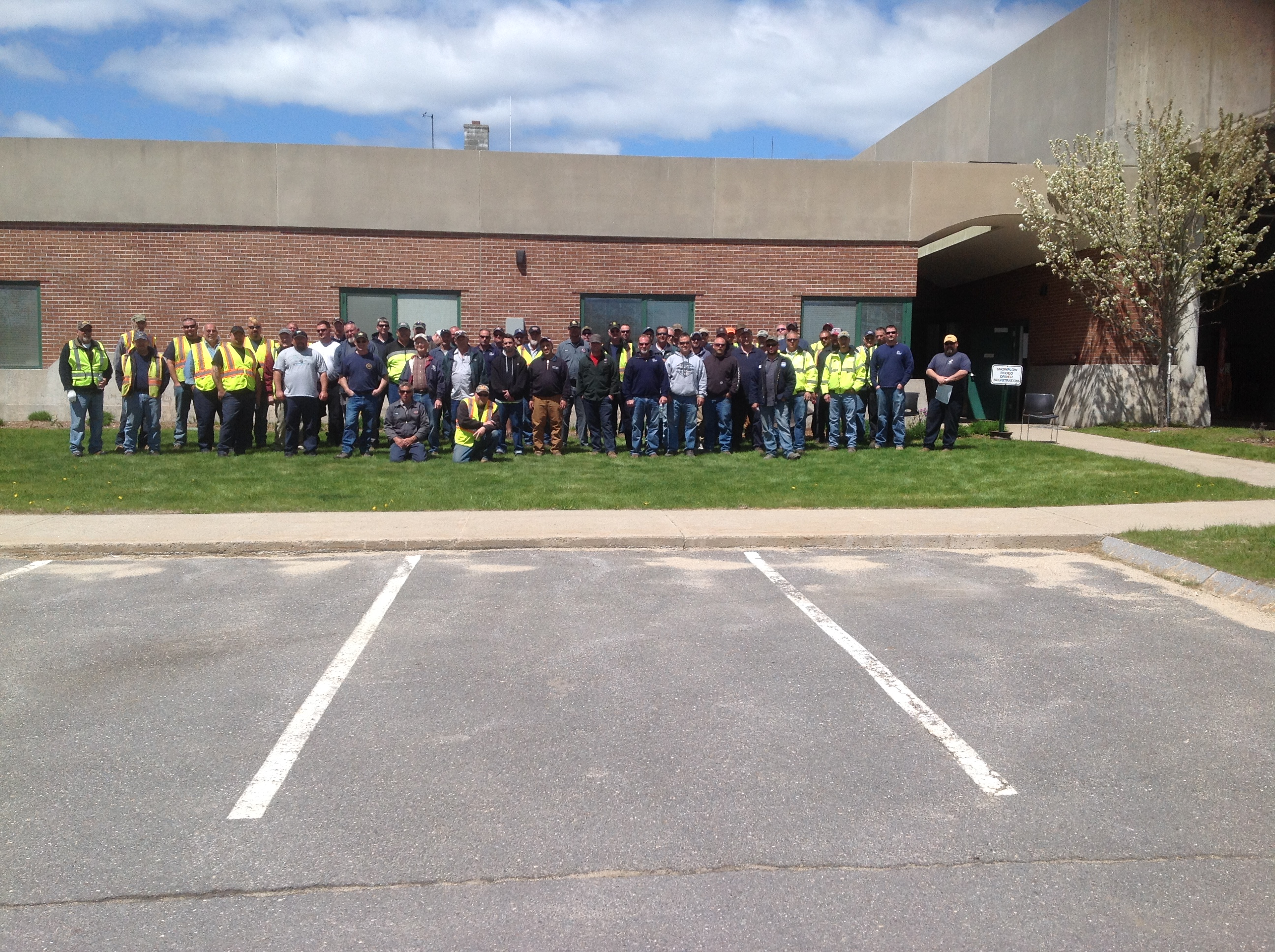 Snow Plow Roadeo Participants